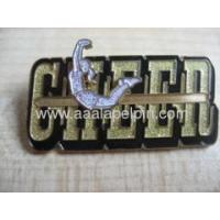 Quality Fashion sport girl lapel pin for sale