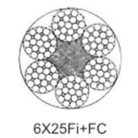 Quality Steel aircraft cable 6X25Fi+FC for sale