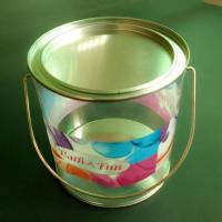 Quality Food Packaging Tins Unique Golden Chocolate Packaging Tin Box for sale