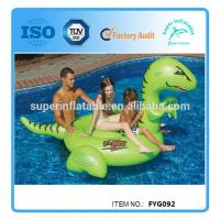 China Giant Ride On Inflatable Pool Float Toy on sale