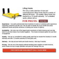 Buy cheap Lifting Hooks from wholesalers