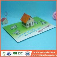 China Handmade Card Funny Birthday Pop Up Cards Template on sale