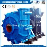 Quality Minerals Concentration Slurry Handling Pump for Sand Mining for sale