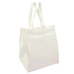 Buy Valubag Bamboo Shopping Bag W/ Self Fabric Handle (Blank) at wholesale prices