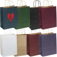 "Quality Matte Finish Custom Promo Shopping Bag - 5.25""w x 8-3/8""h x 3.25""d for sale"