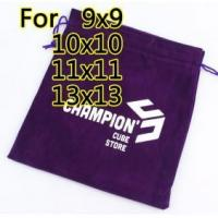 Quality Z Boxes & Bags CCS Velvet Bag[L] purple for sale