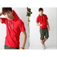 Quality Blank T-shirt Solid color short-sleeved models 02 for sale
