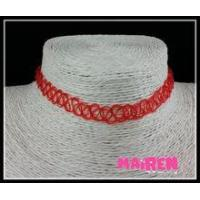Quality DIY simple red tattoo choker 2016 for sale