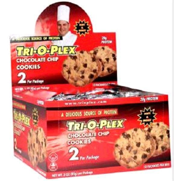Buy Protein Trioplex Cook Chocolate Chip 12 - 3 oz (85 grams) per Packages at wholesale prices