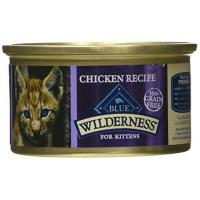 Quality Blue Buffalo Cat Kitten Chicken Entree Wet Cat Food, 3 oz Can, Pack of 24 for sale
