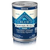 Quality Blue Buffalo BLUE Homestyle Recipe Senior Chicken Dinner 12.5 oz, Pack of 12 for sale