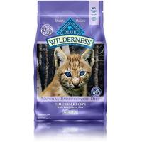 Quality Blue Buffalo Kitten 100-Percent Grain Free Chicken Formula Dry Cat Food, 5 lb Bag for sale