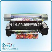 Quality 1.8m flag banner sublimation printing machine for sale