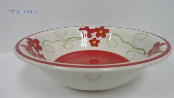 Buy WSY1042B 8.25''ceramic hand painted soup bowl(WSY1042B) at wholesale prices