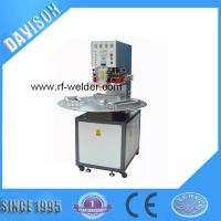 Quality Radio Frequency 3 Stations Manual Turntable PVC Blister Packaging Machine for sale