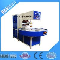 Quality 12KW 4 Stations Automatic Turntable Radio Frequency PVC Blister Packaging Machine for sale