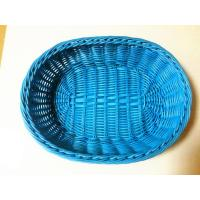 Quality PP plastic bread baskets/blue fruit baskets for sale