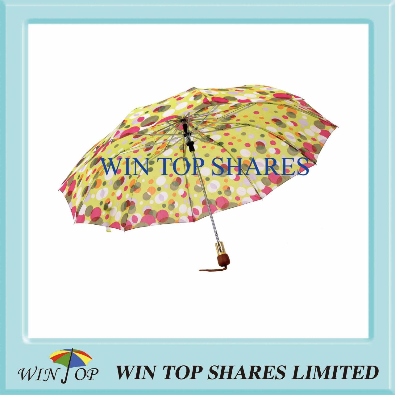 Quality High quality sublimate printing 2 Folds Umbrella Model NumberWTG013 for sale
