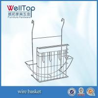 Quality factory wall hanging wire basket for sale