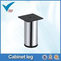 Quality Chrome height adjustable cabinet leg for sale