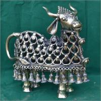 Metal Handcrafted Cow