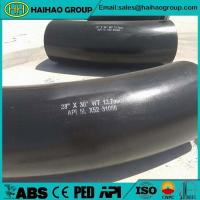 28 inch*30 degree API 5L X52 Reducer Pipe Bend