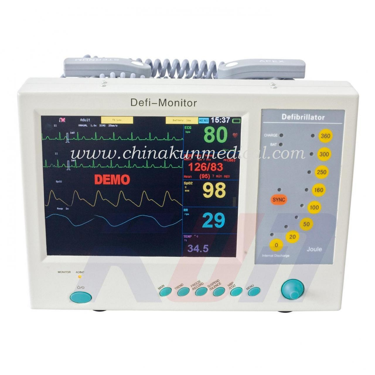 Quality MD-9000B Defibrillator Monitor Monophasic for sale