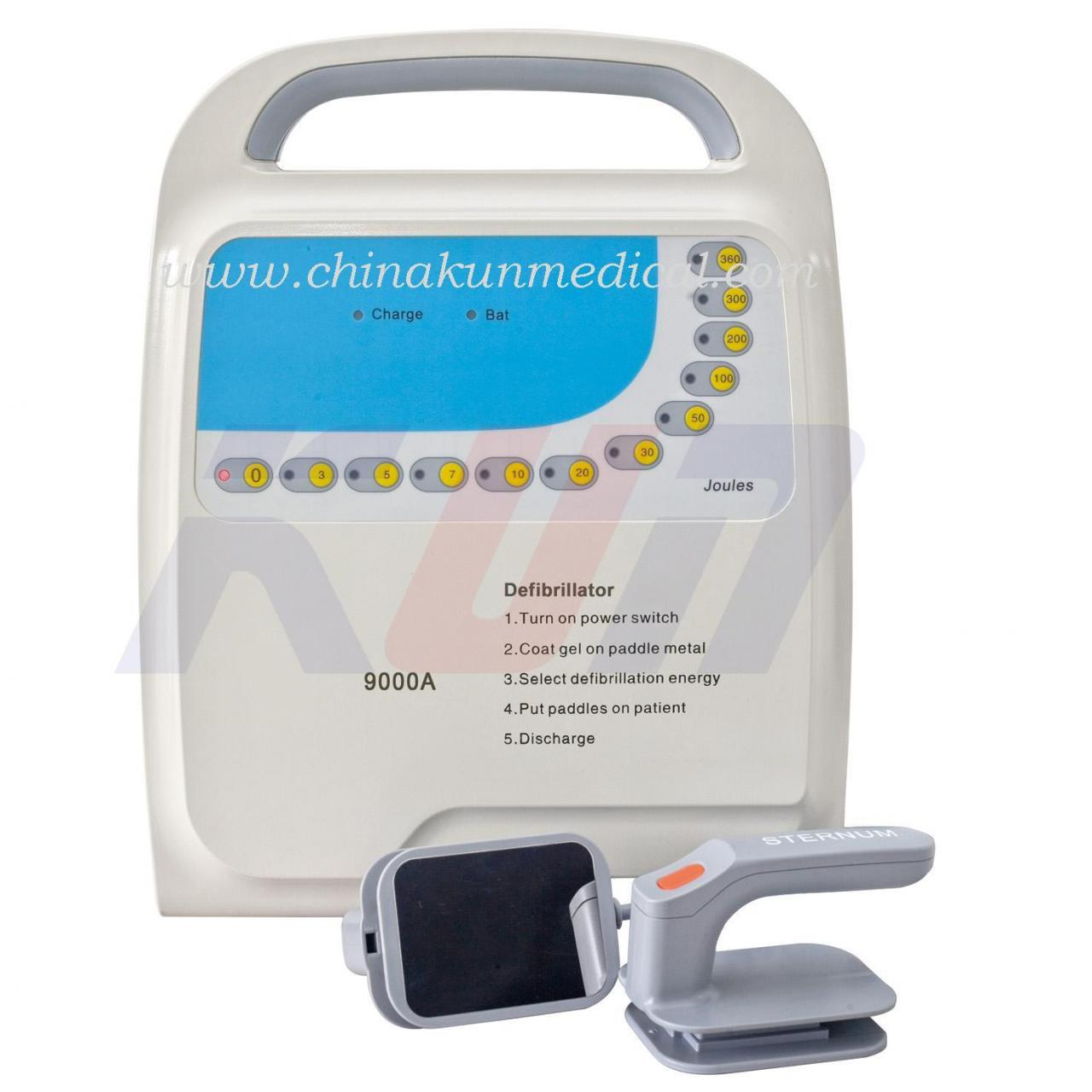 Quality MD-9000A Medical Defibrillator Monophasic for sale