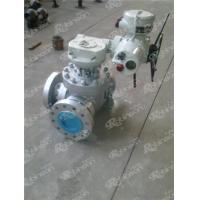 Buy cheap Electric operated 3 way type ball valve from wholesalers