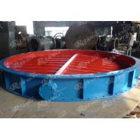 Buy cheap Aeration butterfly valve large size flanged from wholesalers