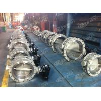 Buy cheap Bi-directional triple offset butterfly valve from wholesalers