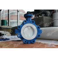 Buy cheap PTFE lined Lug type butterfly valve from wholesalers