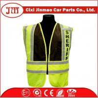 Quality EN ISO 20471 Oxford Fabric Safety Vest for sale