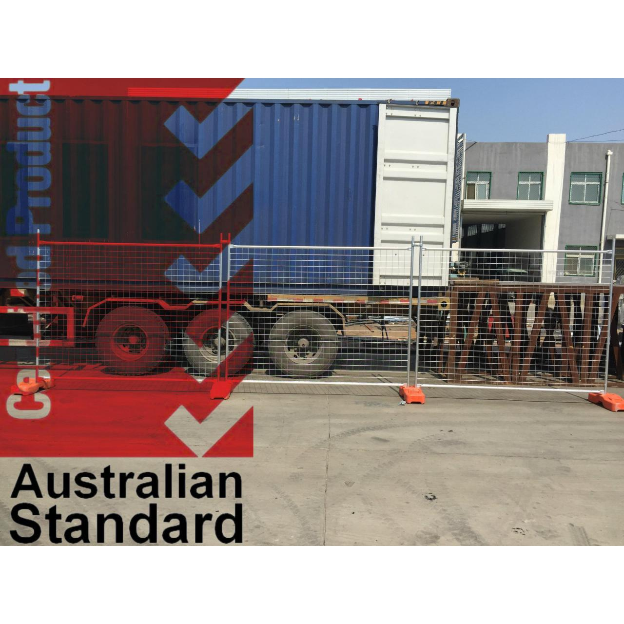 Quality Economic Temporary Fence For Sales Business -17 Microns Zinc Layer HDG before Weld for sale