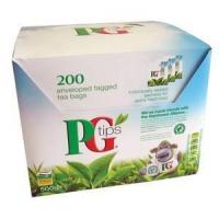 Quality PG Tips Envelope Tea Bags 200's for sale