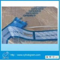 Quality Tamper evident Security seal tapes for sale