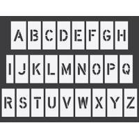 China Arrow Boards Pavement Stencils | Letter Sets on sale