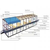 Quality Two Layer Prefabricated Steel House for sale