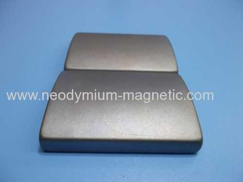 Buy N35SH N38SH N40SH Arc Neodymium Ndfeb Motor Magnet With Ni Plated at wholesale prices