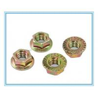 Quality M3-M30 of Color Nuts with Zinc Plated Hex Flange for sale