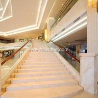 Quality Stone Stairs Golden Spider Marble Sta for sale