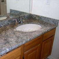 Quality Stone Vanity Tops Azul Aran Granite Vanity for sale
