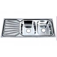 China One piece Double-bowl-single-drain-board Number: SW520/P wholesale