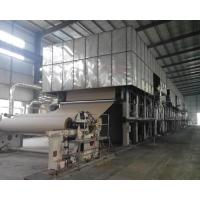 3200mm Liner Paper Making Machine Made from Waste Paper for 50T/D