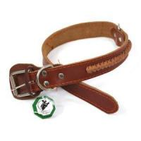 Number:WSQKL-0435 Name:Leather collar Category:Real leather