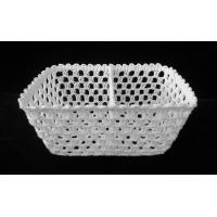 Quality Basket Crochet cotton rectangular basket for sale