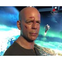 Quality Celebrity And Movie Star Wax Figure Bruce Willis for sale