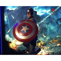 Quality Movie Star Character Wax Figure Captain America for sale