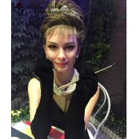 Buy cheap Lifesize Wax Figure Of Andrey Hepburn from wholesalers