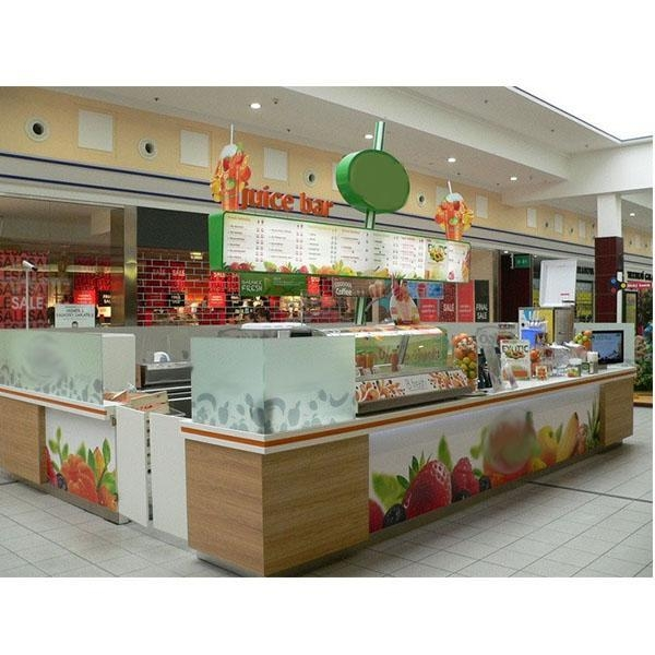 Buy High quality fruit juice kiosk mall for sale-L at wholesale prices